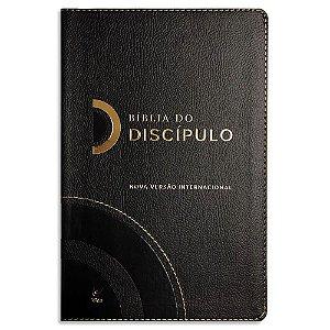 Bíblia do Discípulo NVI Preta Luxo