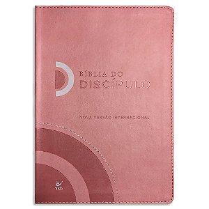 Bíblia do Discípulo NVI Rosa Luxo