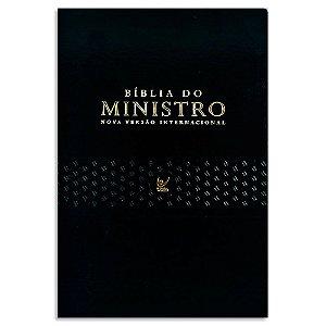 Bíblia do Ministro NVI capa Preta
