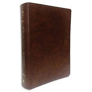 Bíblia Nova Reforma NVI Couro Ecológico