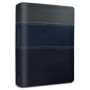 Bíblia Thompson Almeida Contemporânea Azul e Cinza