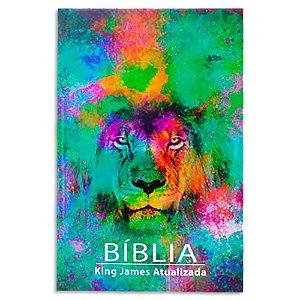 Bíblia King James Atualizada Leão Color