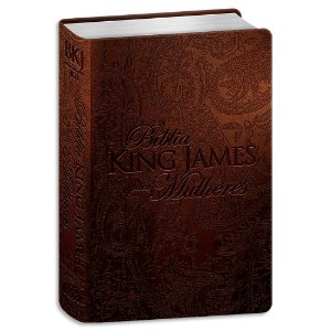 Bíblia King James para Mulheres Marrom