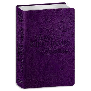 Bíblia King James para Mulheres Roxa