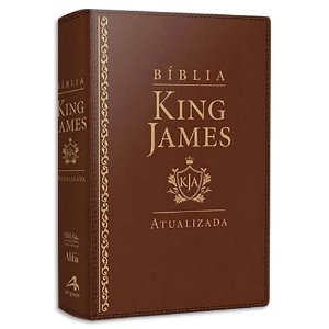 Bíblia King James Atualizada Letra Grande Marrom