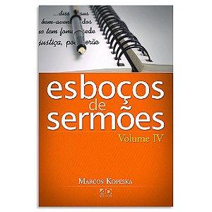 Esboços de Sermões - Vol. 4