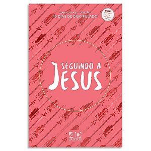 Seguindo a Jesus - Capa vermelha
