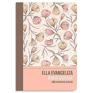 Bíblia Ella Evangeliza Rose Floral