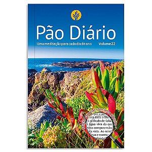 Pão Diário Vol. 22 Capa Paisagem Edição Especial Com Letra Gigante
