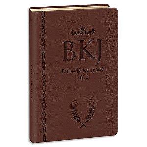 Bíblia King James 1611 Ultrafina Gigante Marrom