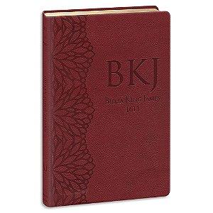 Bíblia King James 1611 Ultrafina Gigante Vinho