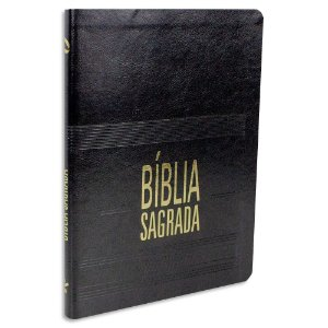 Bíblia Sagrada Letra Grande Superfina Preta NAA
