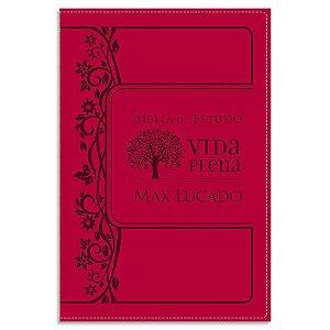 Bíblia de Estudo Vida Plena NVI Rosa