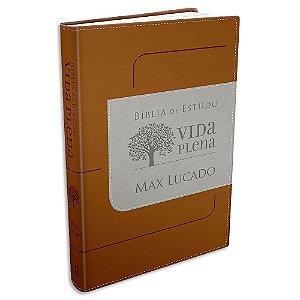 Bíblia de Estudo Vida Plena NVI Marrom
