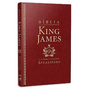 Bíblia King James Atualizada Slim Vinho