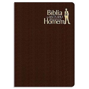 Bíblia de Estudo Devocional do Homem Marrom