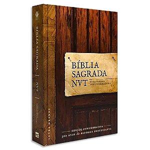 Bíblia NVT Letra Grande 500 Anos da Reforma Protestante