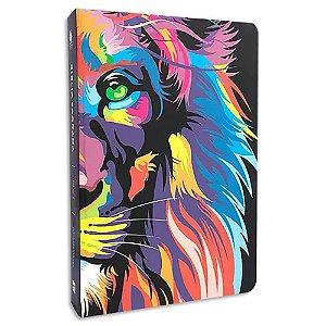 Bíblia NVT Letra Grande Leão Colorido ST