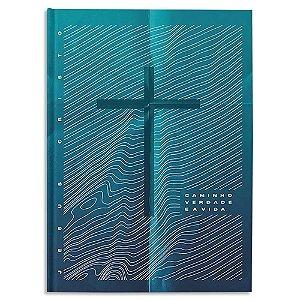 Bíblia NAA Letra Grande capa Jesus É O Caminho A Verdade e A Vida