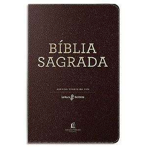 Bíblia Leitura Perfeita Letra Gigante NVI Marrom