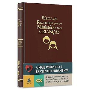 Bíblia de Recursos para o Ministério com Crianças Marrom