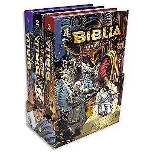 Bíblia em Quadrinhos Kingstone 3 Volumes