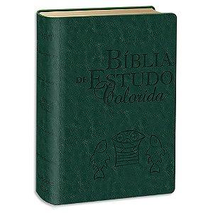 Bíblia de Estudo Colorida NVI Letra Grande Verde
