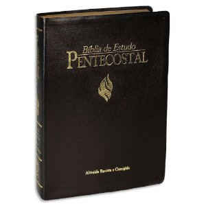 Bíblia de Estudo Pentecostal Grande Preta