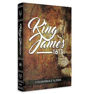 Bíblia King James 1611 com Concordância e Pilcrow