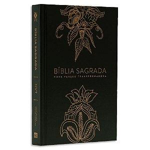 Bíblia NVT Flores Indianas Dourada