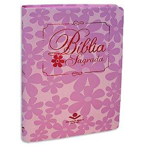 Bíblia Feminina Slim NTLH Rosa