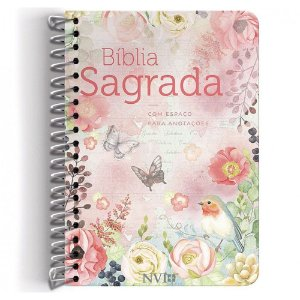 Bíblia NVI Anote Espiral Clássica Virtuosa
