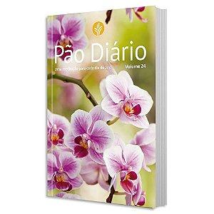 Pão Diário Vol. 24 - Capa Flores