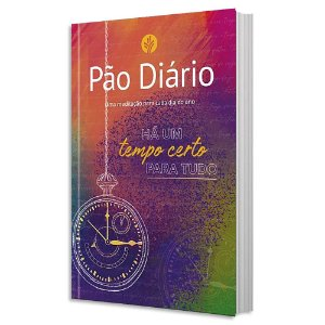 Pão Diário Vol. 24 - Capa Tempo Certo