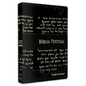 Bíblia Textual Luxo Preta