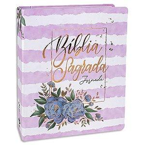 Bíblia Sagrada Jornada Feminina Aquarela