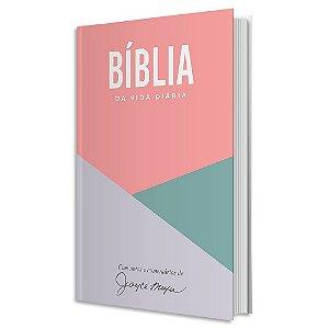 Bíblia de Estudo Joyce Meyer capa dura Geométrica