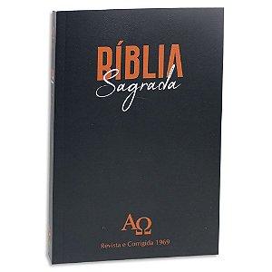 Bíblia Almeida Corrigida 1969 Preta