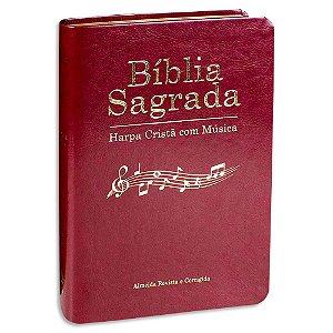 Bíblia Sagrada com Harpa e com Música Vinho