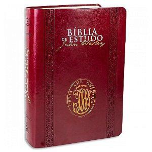 Bíblia de Estudo John Wesley Vinho
