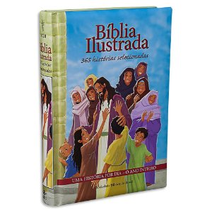 Bíblia Infantil Ilustrada 365 Histórias Selecionadas