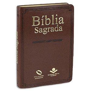 Bíblia NAA média Marrom