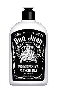Don Juan Progressiva Masculina SEM FORMOL Barba Forte 300ml