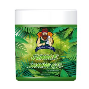 Gel de Barbear Jungle Shaving Gel Barba Forte 500gr