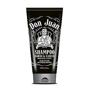 Shampoo para Barba e Cabelos Don Juan Barba Forte 170ml