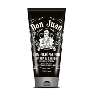 Condicionador Barba e Cabelo Don Juan Barba Forte 170ml