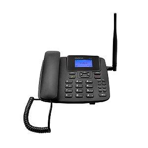 Telefone Rural Celular Fixo De Mesa Cf4201 Intelbras