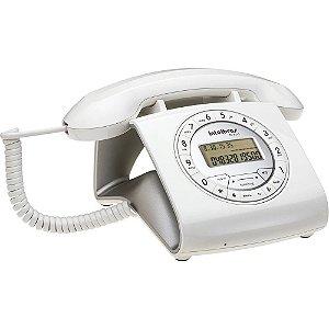 Aparelho Telefone Fixo Tc 8312 Flash Retro Branco