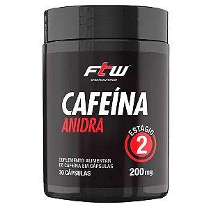 Cafeína Anidra 200mg - 30caps - FTW