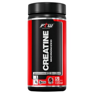 Creatine Micronized 120caps - FTW